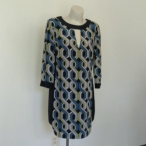 Trina Turk Dresses & Skirts - Geometric Mod Trina Turk Shift Dress